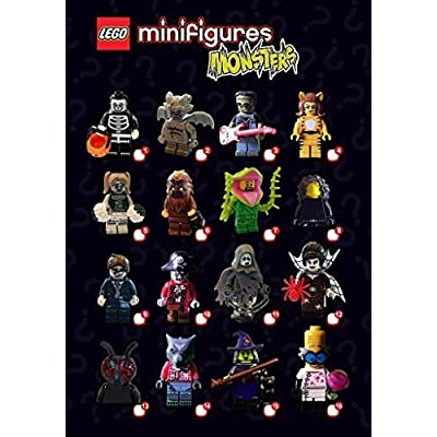 LEGO Sealed 71010 Box/case of 60 Minifigures Series 14: Toys & Games