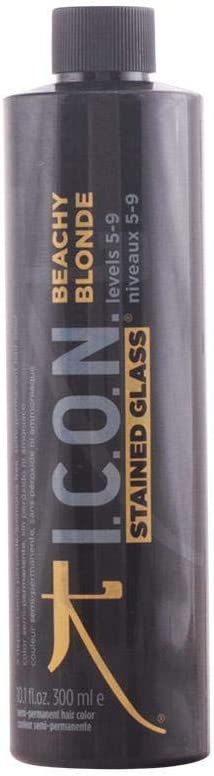 ICON Stained Glass Beachy Blonde Semi Permanent Levels 5 9 Tratamiento Capilar - 300 ml (1256-71219)