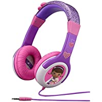Doc McStuffins Disney Junior Kid Friendly Volume Reduced Rockin Doc Youth Stereo Headphones
