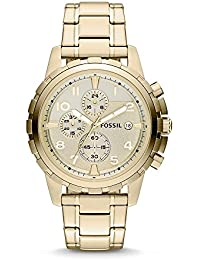 Men's FS4867 Dean Chronograph Stainless Steel Watch - Gold-Tone