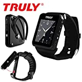 Truly Detachable Bluetooth Smart Watch Phone - Black