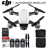 DJI Spark Quadcopter (Alpine White) DJI Spark Bag Ultimate Bundle