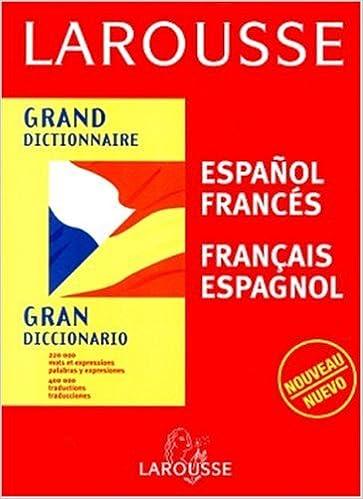 Amazon Fr Grand Dictionnaire Espagnol Francais Francais