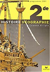 Histoire-Géographie, TD 2de
