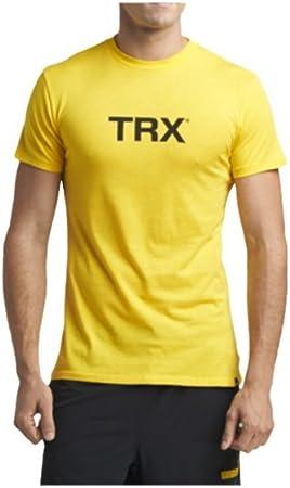 TRX Entrenamiento Camiseta Hombre, Mezcla de algodón y ...