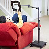LEVO Deluxe Tablet Floor Stand Powered to Charge all Best Tablets iPad Mini Pro Galaxy Fire Surface