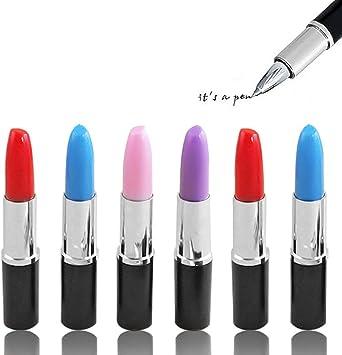 Stationery Students Lipstick Shape Eraser Rubber Novelty Gift Eraser SchoolB Kw