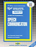 Speech Communication, Rudman, Jack, 0837384451