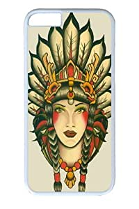 iphone 6 4.7 Case, iphone 6 4.7 Cases -Girl 26 Polycarbonate Hard Case Back Cover for iphone 6 4.7 inch White