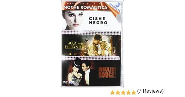 Maraton De Cine: Noche Romantica:Cisne Negro / Agua Para Elefantes / Moulin Rouge - Tri DVD: Amazon.es: Natalie Portman, Mila Kunis, Vincent Cassel, Reese Witherspoon, Darren Aronofsky, Francis Lawrence, Baz Luhrmann, Natalie