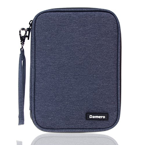Damero USB Flash Drive Bag for SD Cards, Power Banks, Memory Cards/Waterproof External Hard Drive Case (Large, Dark Blue) by Damero (Image #7)