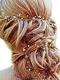 Missgrace Crystal Cluster Bridal Wedding Headband -Wedding hair Accessorice