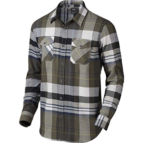 Woven T-shirt (Oakley Men's Frontier Woven, Dark Brush,)