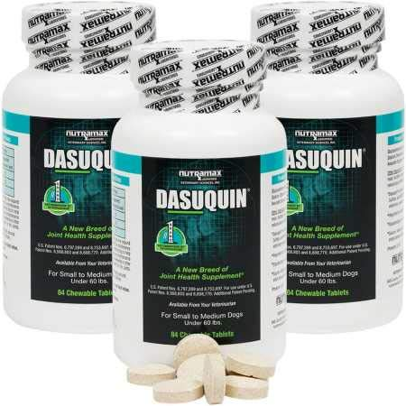 Image of Dasuquin 3PACK for Small to Medium Dogs (252 Chewable Tabs)