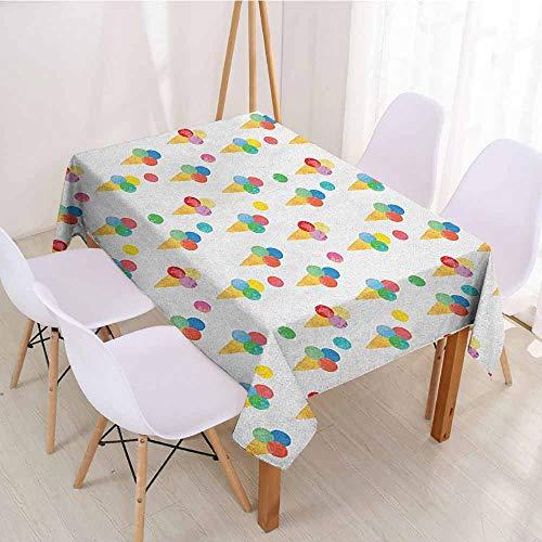 ScottDecor Picnic Cloth Dinning Tabletop Decoration W 60