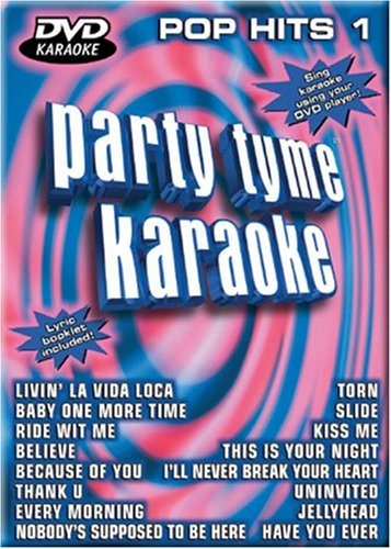 Party Tyme Karaoke: Pop Hits, Vol. 1 (Party Tyme Karaoke Dvd)
