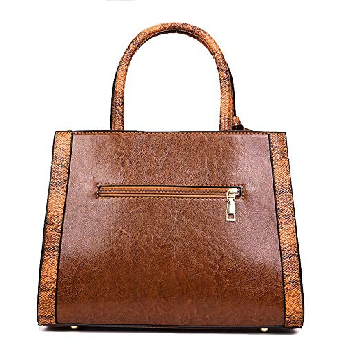 TSDBG209340 Brown Bags Pu Casual Women's Tote AalarDom Black Bags Crossbody F0BRq0pw