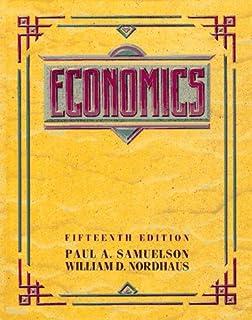 Economics paul a samuelson william d nordhaus 9780073511290 economics fandeluxe Choice Image