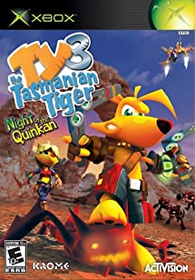 Ty the Tasmanian Tiger 3 Night of the Quinkan - Xbox