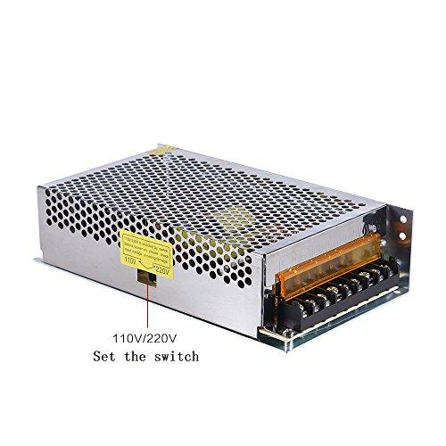 ALUNAR Printer Power Supply 12V 20A 240W Full Metal Cover Switching Power Supply for Reprap I3 Impresora Desktop 3D Printer kit M505 Anet A8 A6 A3 E10