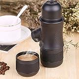 OKOKMALL US--Mini Hand Espresso Maker Coffee Mug Cup Machine Outdoor Camping Outdoor Portable