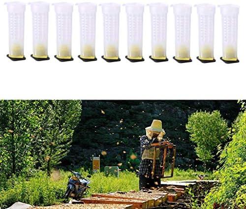 HSKB Bienen Beehive Wasser Feeder Professional Bienen Feeder Trinken Nest Eingang Imker Bienenzucht Tool Kit 10pc