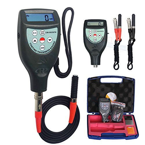 c Induction F Eddy Current NF Probe Coating Thickness Gauge Paint Meter 0 ~ 1250um (Eddy Current Probe)