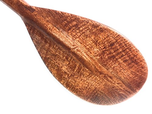 TikiMaster Blonde Curly Koa Paddle 36