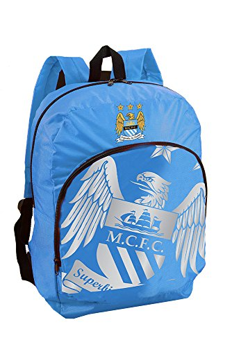 Manchester City Foil Print Backpack (Foil Replica)