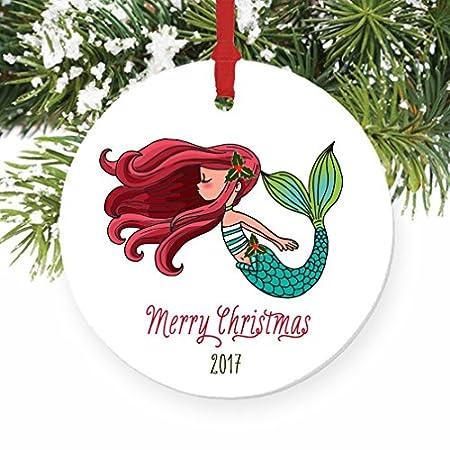 51X6BsDz4qL._SS450_ Mermaid Christmas Ornaments