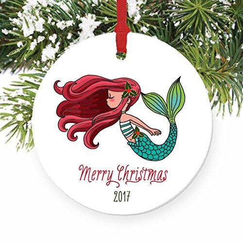 51X6BsDz4qL Amazing Mermaid Christmas Ornaments