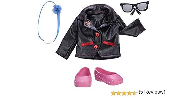Amazon.es: Nancy - My Look Jackets, Vestidos para muñeca, Color Negro (Famosa 700012073): Juguetes y juegos