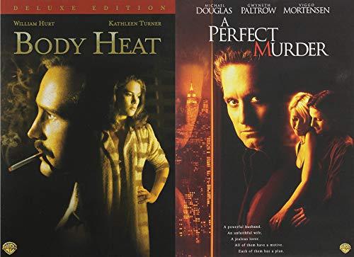 Seductive Double Feature Body Heat & A Perfect Murder Micheal Douglas 2-DVD Bundle