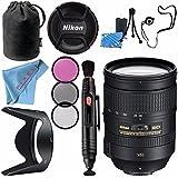 Nikon AF-S NIKKOR 28-300mm f/3.5-5.6G ED VR Lens 2191 + 77mm 3 Piece Filter Kit + Lens Pen Cleaner + Fibercloth + Lens Capkeeper + Lens Cleaning Kit Bundle