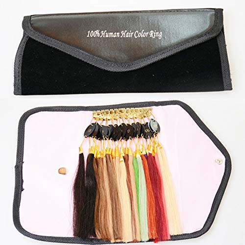 Beautywin 32 Color Human Hair Color Rings Color Chart for sale  Delivered anywhere in USA
