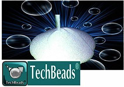 25kg MV2 TECHBEADS 0 – 50 Microesferas de vidrio MICRON para granallado y decapado acabado de
