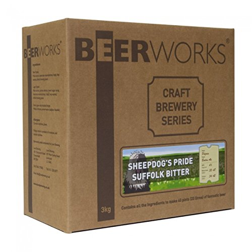 Beerworks Craft Brewery Series Sheepdog's Pride Suffolk Bitter - Home Brew Beer Kit