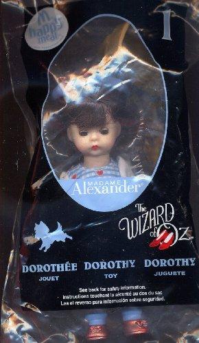2008 Mcdonalds Madame Alexander Wizard of Oz Doll #1 Dorothy by Madame ()