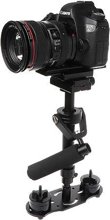 Estabilizador de mano para cámara réflex digital con barra de ...