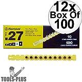 "Ramset 4RS27 Box of 100#4""Yellow"" 27 cal Strip"