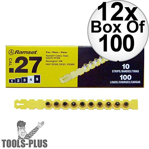 Load Cal Strip 27 - Ramset 4RS27 Box of 100#4