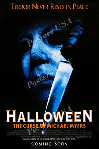 Posters USA Halloween The Curse of Michael Myers GLOSSY FINI