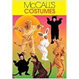 McCalls Adult & Childrens Easy Sewing Pattern 6106 Animal Onesie Costumes