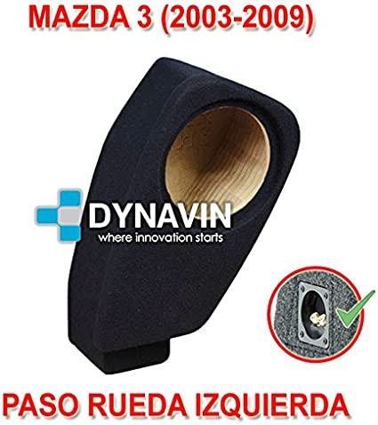 Dynavin Mazda 3 (2003-2009) - Caja ACUSTICA para SUBWOOFER ...