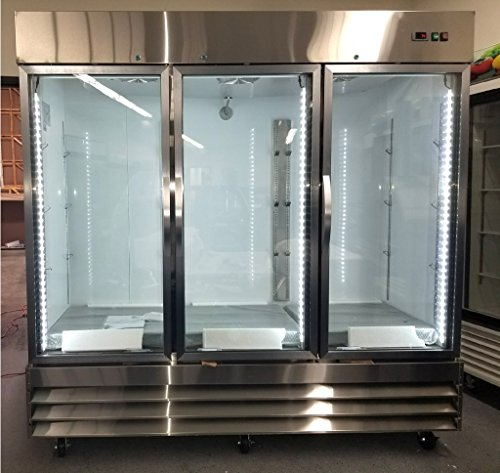 3 Glass Door Refrigerator - 2