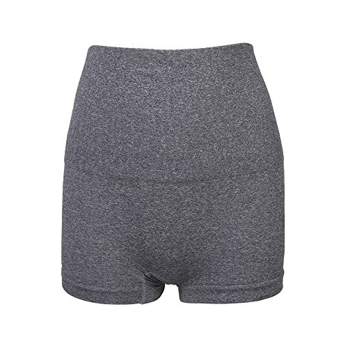 LastFor1 Women's Shapewear Boyshort Hi-Waist Brief Firm Control Higher Power Panty (M) - Control Boyshort
