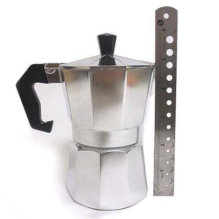 Amazon.com: Stove Top Espresso Cuban Coffee Maker pot Cappuccino Latte 3 Cup Cafetera Cubana: Kitchen & Dining