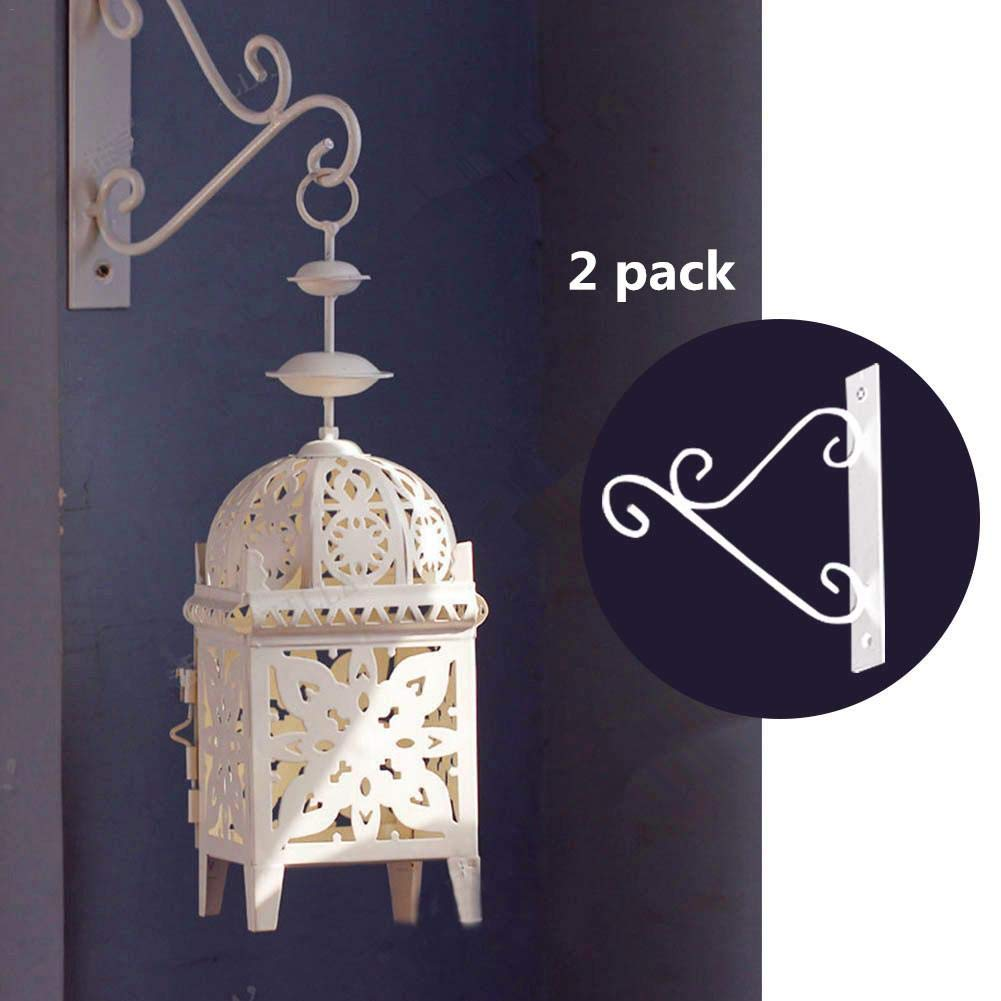 Hook - European Painting Storm Lantern Candlestick Hook for Home Dining Wall Room Garden Decor Hanging Lamp