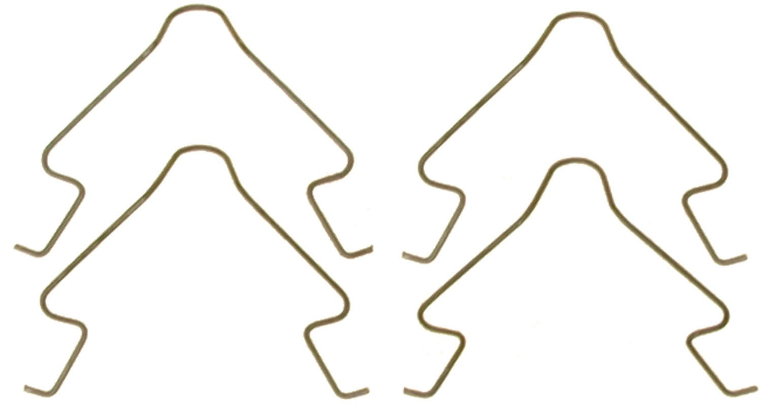 ACDelco 18K1051SS Professional Rear Disc Brake Pad Anti-Rattle Clip