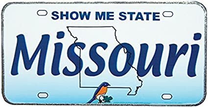 Wisconsin License Plate Replica Metal Magnet